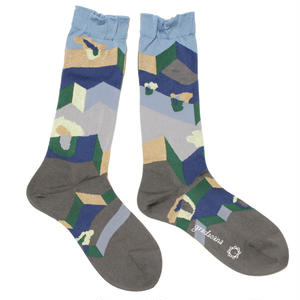 another dimention socks / グリーン
