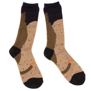sleep cat socks / グリーン
