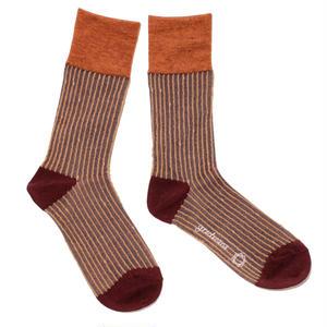 starlight sky socks / ブラウン