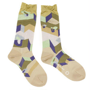 another dimention socks / ベージュ