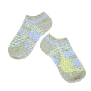 vegetable camp socks / グレー