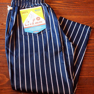 """COOKMAN""Chef Pants 「Pin Stripe」Navy"