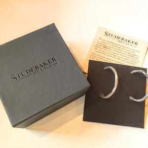 """STUDEBAKER metals""Hoop Earring(Pure Copper)"
