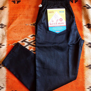 "再入荷!""COOKMAN""Chef Pants 「Black」"