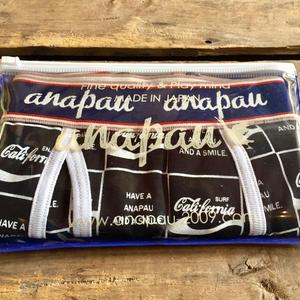 """[再入荷]""""ANAPAU"""" Boxer Pants(california/BLACK)"""