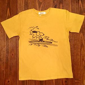 """GOOD ON""×""PEANUTS"" Snoopy Short Sleeve Tee"
