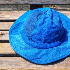 [SUNNY SIDE UP] Remake Field Hat (DENIM)
