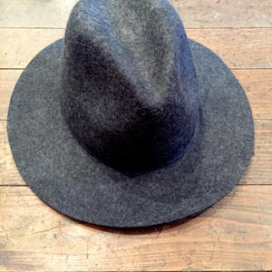 NO BRAND Wool Hat[Charcoal Grey]