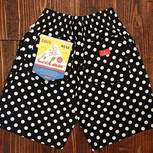 """COOKMAN""Chef Short Pants Pants 「Dot」"