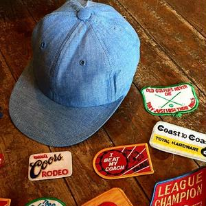 Italian Military 1980's Deadstock Chambray Cap