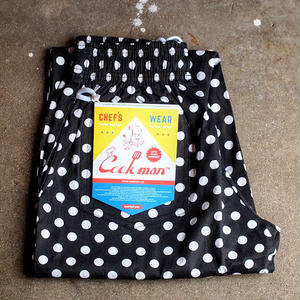 "再入荷!""COOKMAN""Chef Pants 「Dot」"