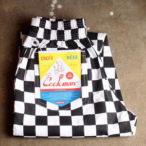 """COOKMAN""Chef Pants 「Checker」5月中旬再入荷予定"