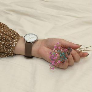 ~2サイズ~シンプル 腕時計 メンズ レディース カーキ アースカラー