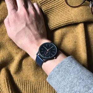シンプルウォッチ ブラック メンズサイズ シンプル ギフト 人気 プレゼント 時計