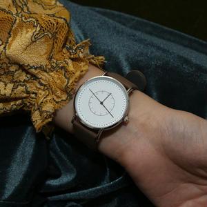 ~2サイズ~シンプル 腕時計 メンズ レディース 兼用 カーキ