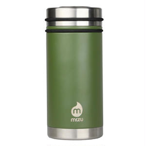 MIZU V5 WIDE Enduro Army Green  / w New Stainless Lid