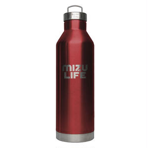 MIZUボトル V8 MIZU LIFE Red Stainless