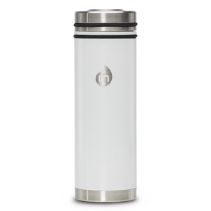 MIZU V7 WIDE Glossy White / w Stainless Lid