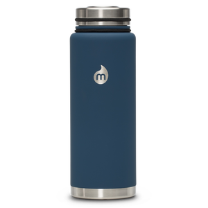 MIZU V12 WIDE  Soft Touch Blue / w Stainless Lid