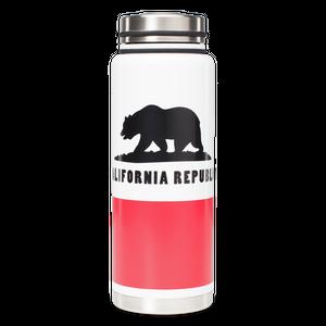 MIZU V12 WIDE California Flag / w New Stainless Lid