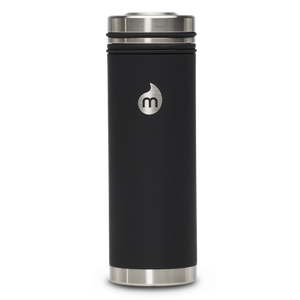 MIZU V7 WIDE Soft Touch Black / w Stainless Lid