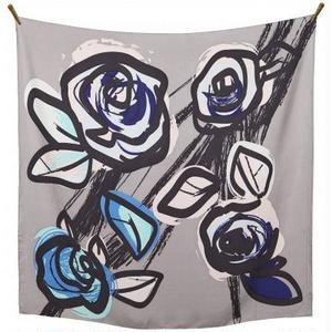 【Bella Ballou】FLOWER  POP  花柄 大判 春夏スカーフ  北欧  デンマーク
