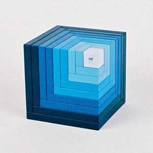 【6才〜:造形遊び】【積み木】セラ 青