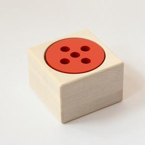 【1才〜:出す・入れる・はめる】【数・大きさ】ディスクキューブ