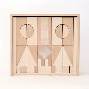 【2才〜:造形・形・想像力】【積み木】アルビスブラン積み木(大)