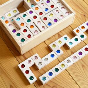 【3才〜:造形・色・想像力】【積み木】【ゲーム】ジュエル積木