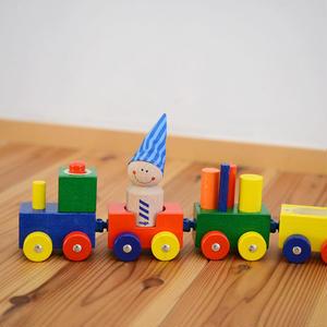 【8ヶ月〜3才】【動かす・手を使う】よちよちトレイン