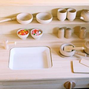 【1才半〜7才】【ままごと用食器】【想像力】木遊舎 たっぷりままごとセット
