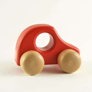 【6ヶ月〜】【押す車】PKW 赤