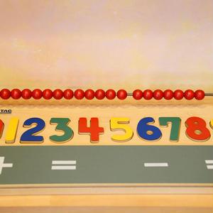 【セラピー教具】数えるレディネス教具【お取り寄せ品 納期:1週間〜10日程】