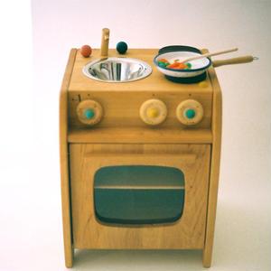 【2才〜】【ままごと用台所】チャイルドキッチン(流し付き)