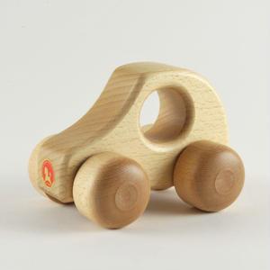 【6ヶ月〜】【押す車】PKW 白木