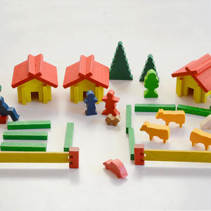 【2才〜大人】【想像力・指先】スイスの家