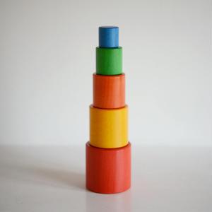 【1才〜】【はめ込み玩具】タワー