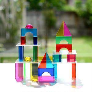 【4才〜:色・光・造形】【積み木】Luxyブロック カラー