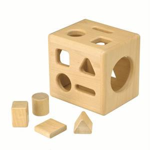 【セラピー教具】形の分類と保存性の概念を理解する箱【お取り寄せ品 納期:1週間〜10日程】