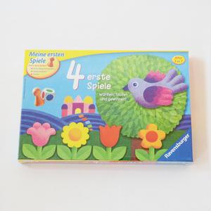 【3-8才】【色サイコロ遊び】フォーゲームス