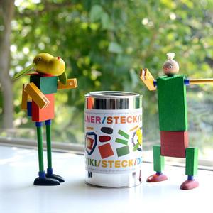 【5才〜】【差し込み構成玩具】ケルナー缶 max+bruno