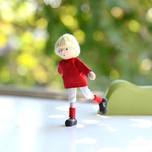 【3才〜:想像遊び・生活遊び】自在人形 サッカー少年