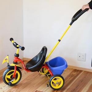 【2才〜】【乗る・こぐ】プッキー 押し棒付き三輪車 スペシャル