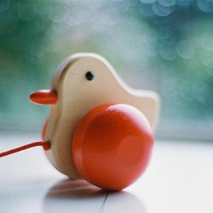 【1才〜:引っぱる玩具】あひるの子
