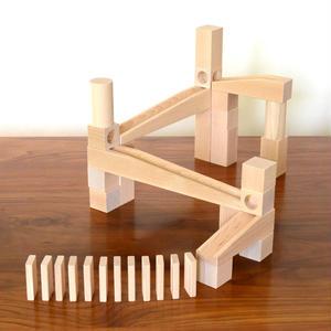 【4才〜】【積木のビー玉転がし・構成玩具】組立てクーゲルバーン・スターターセット