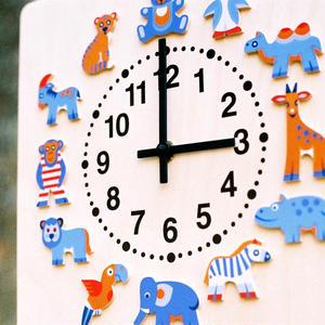 時計 動物たち