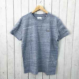 ☆8bitデザインの刺繍Tシャツ☆BRICKTOWN【ブリックタウン】S/S TEE  TOBACCO H.GREY