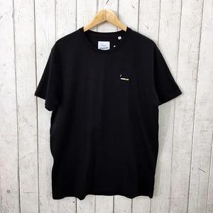 ☆8bitデザインの刺繍Tシャツ☆BRICKTOWN【ブリックタウン】S/S TEE  TOBACCO BLACK