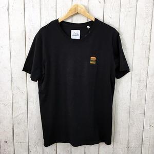 ☆8bitデザインの刺繍Tシャツ☆BRICKTOWN【ブリックタウン】S/S TEE  BURGER BLACK